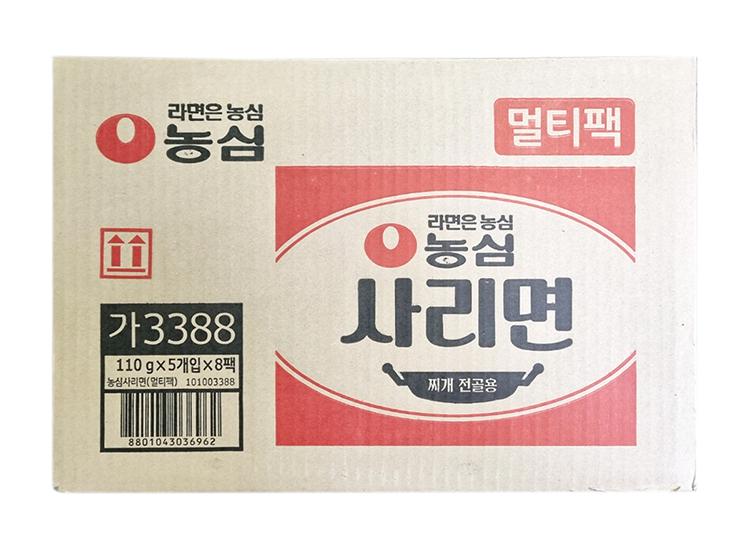 농심)사리면멀티110g*5*8입-box