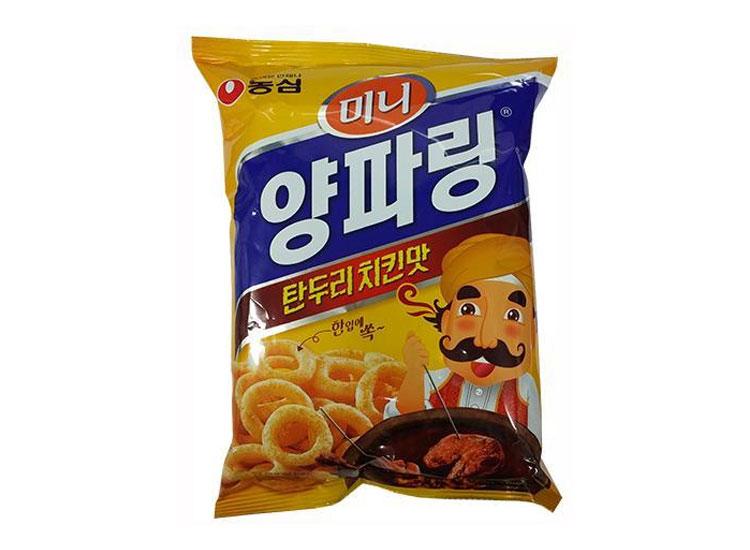 농심)미니양파링탄두리치킨맛80g