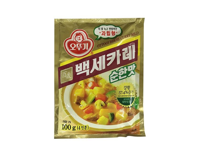 오뚜기)백세카레순한맛100g