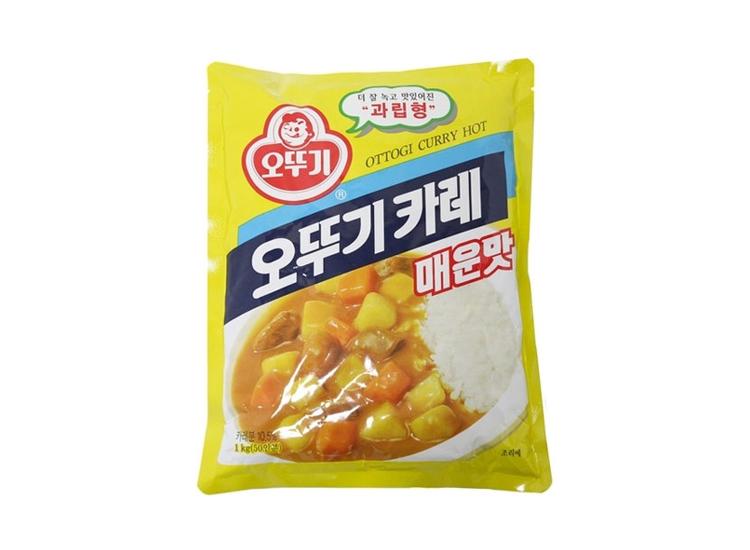 오뚜기)카레매운맛1kg