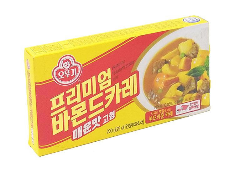 오뚜기)프리미엄바몬드카레고형매운맛200g