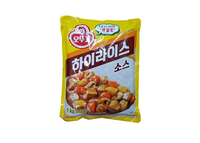 오뚜기)하이라이스1kg