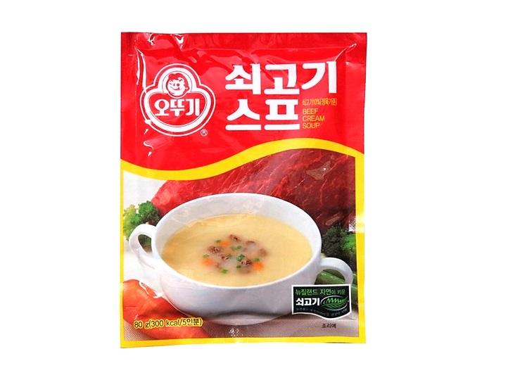 오뚜기)쇠고기스프80g