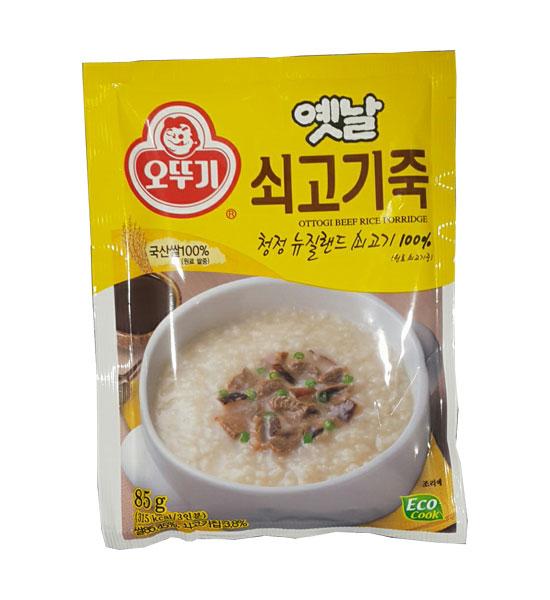 오뚜기)쇠고기죽85g