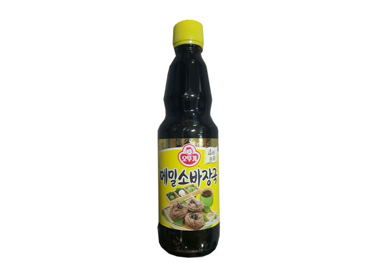 오뚜기)메밀소바장국360ml