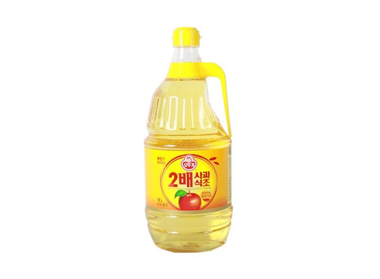 오뚜기)2배사과식초1.8L
