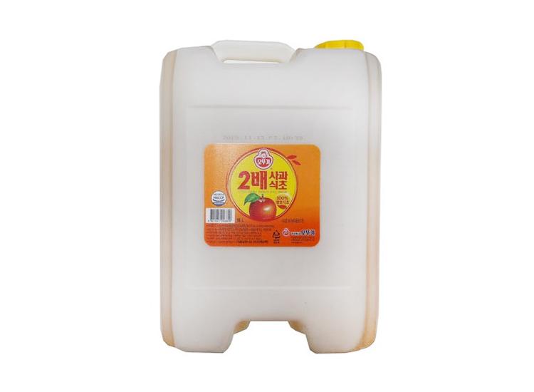 오뚜기)2배사과식초18L