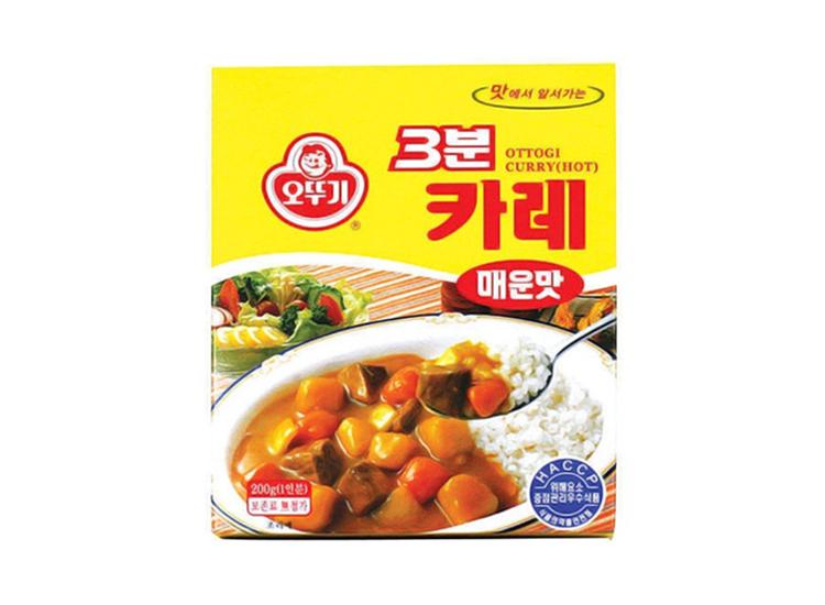 오뚜기)3분카레매운맛200g
