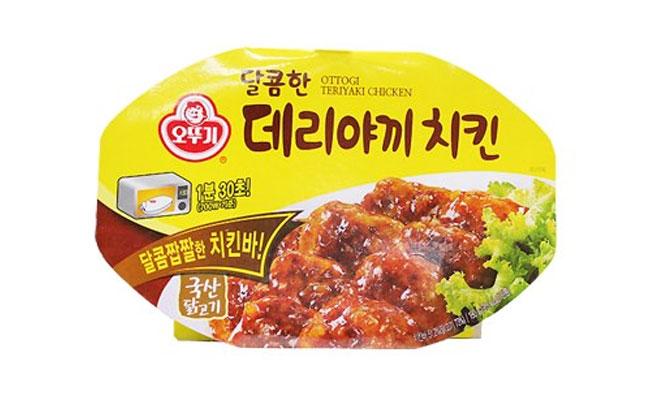오뚜기)달콤한데리야끼치킨(렌지)180g