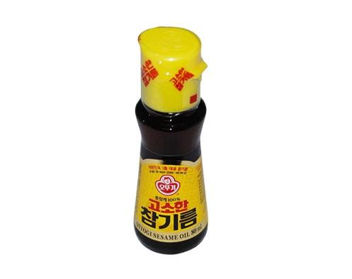오뚜기)고소한참기름80ml(병)