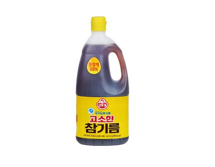 오뚜기)고소한참기름1.8L
