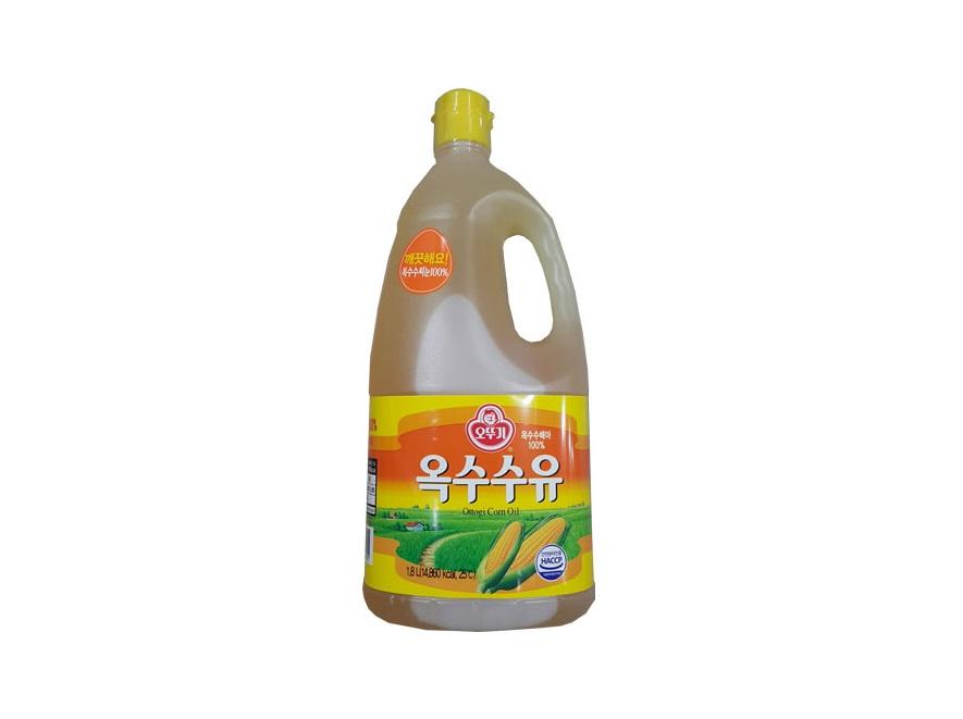 오뚜기)옥수수유1.8L