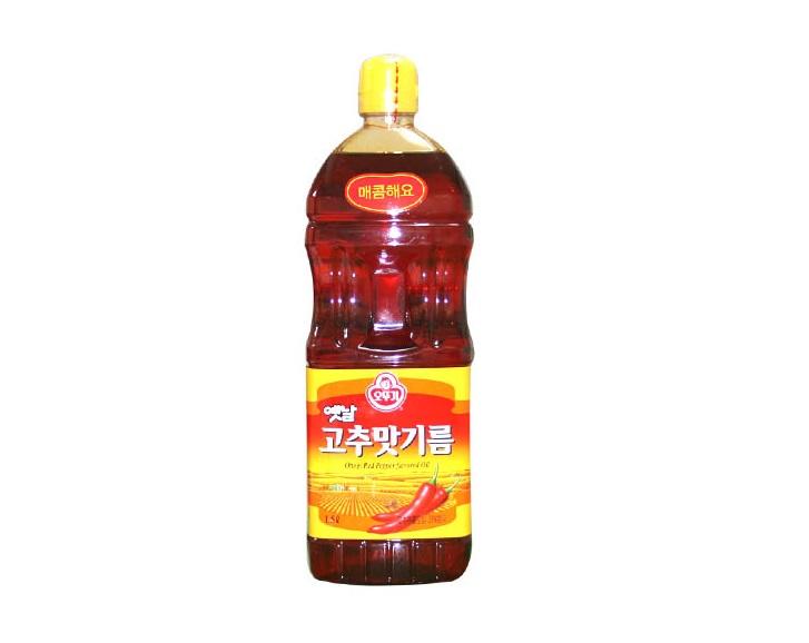 오뚜기)옛날고추맛기름1.5L