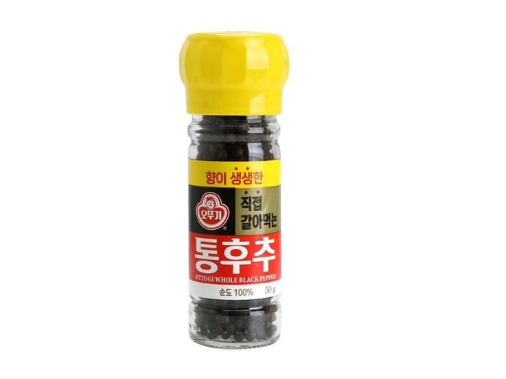 오뚜기)향이생생한직접갈아먹는통후추50g