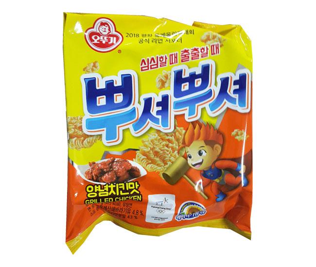 오뚜기)뿌셔뿌셔양념치킨맛90g
