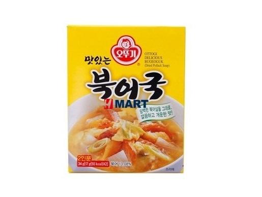 오뚜기)즉석북어국34g