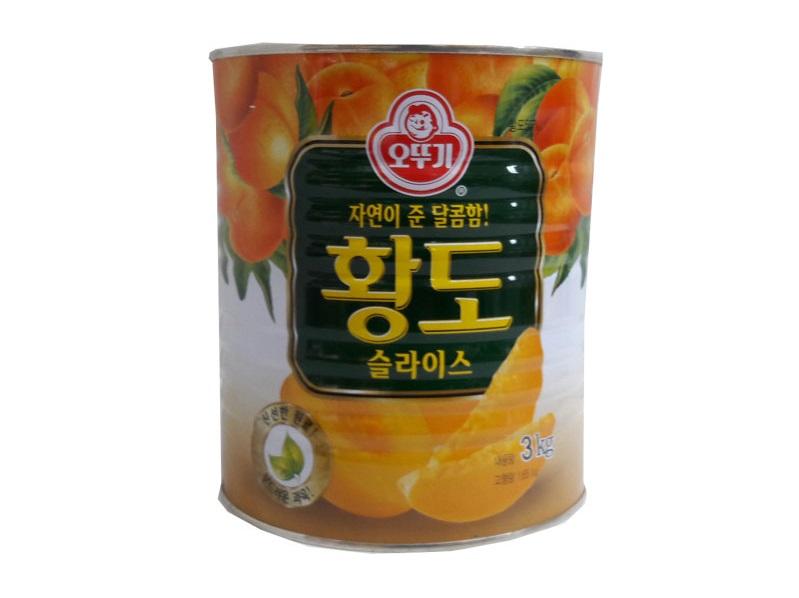 오뚜기)황도슬라이스3kg