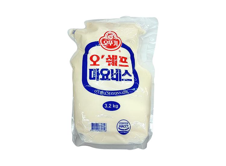 오뚜기)오쉐프마요네즈3.2kg(파우치)