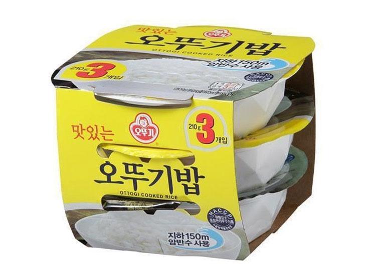 오뚜기)오뚜기밥210g*3입