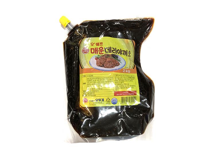 오뚜기)오쉐프매운데리야끼소스2kg