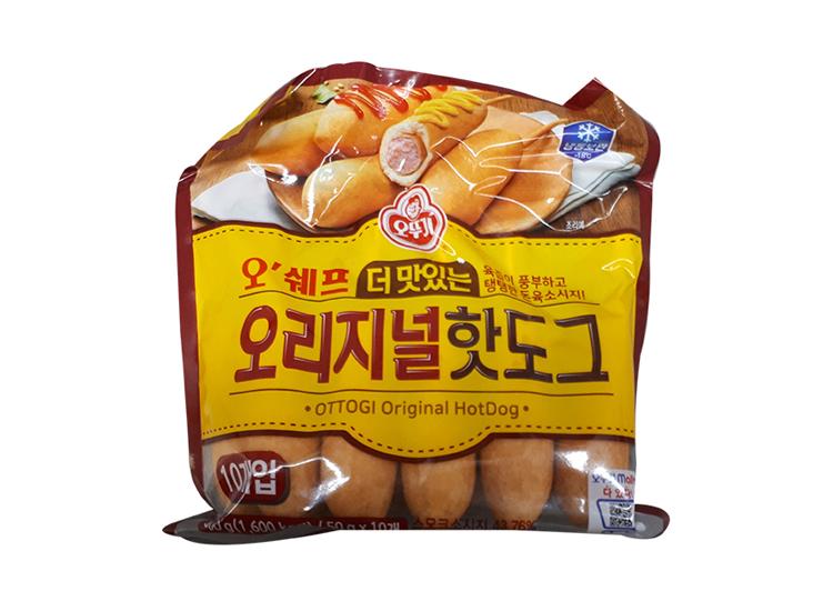 오뚜기)오쉐프더맛있는오리지널핫도그500g