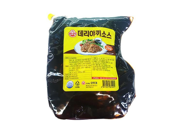오뚜기)오쉐프데리야끼소스2kg
