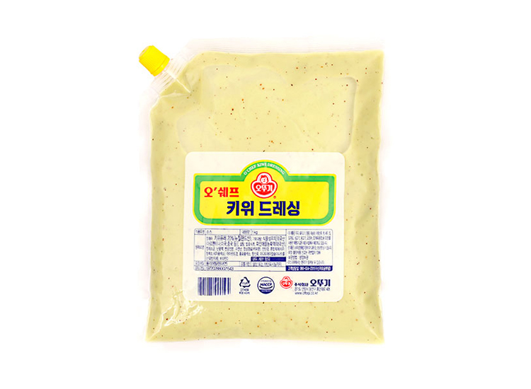 오뚜기)오쉐프키위드레싱1kg