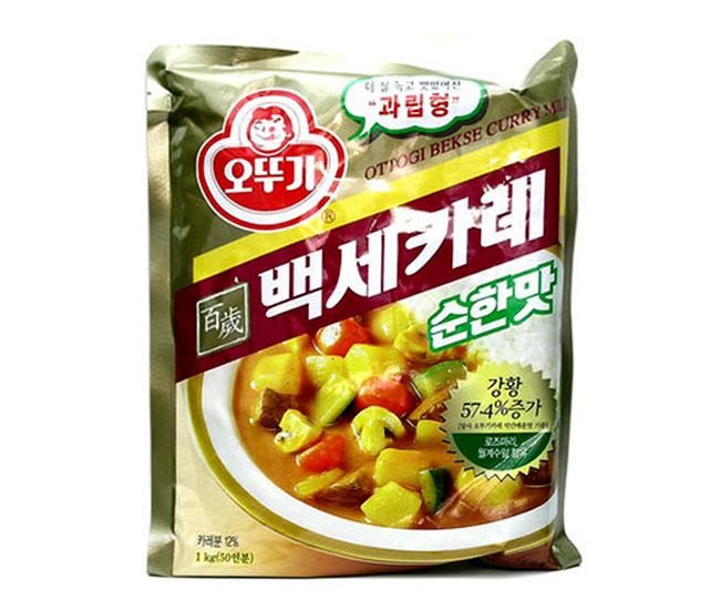 오뚜기)백세카레순한맛1kg