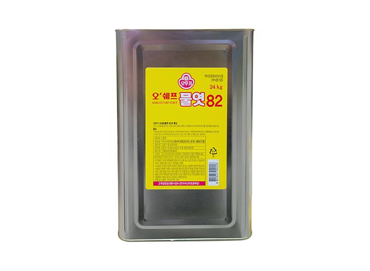 오뚜기)오쉐프물엿82 24kg
