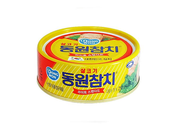 동원)살코기참치210g