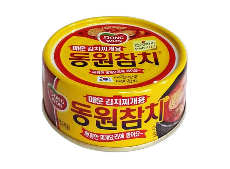 동원)매운김치찌개참치150g