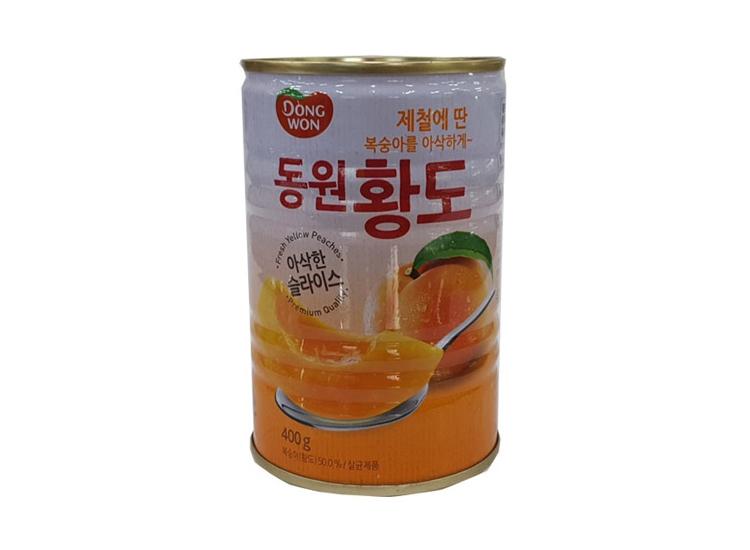 동원)황도슬라이스400g
