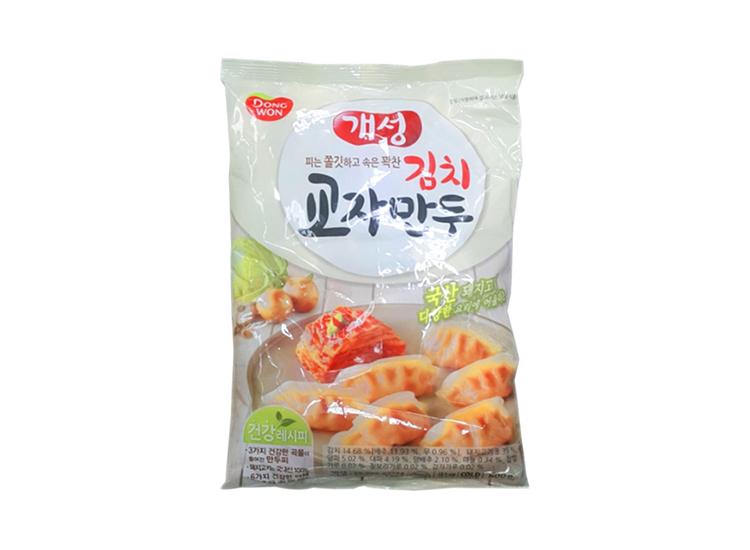 동원)개성김치교자만두600g