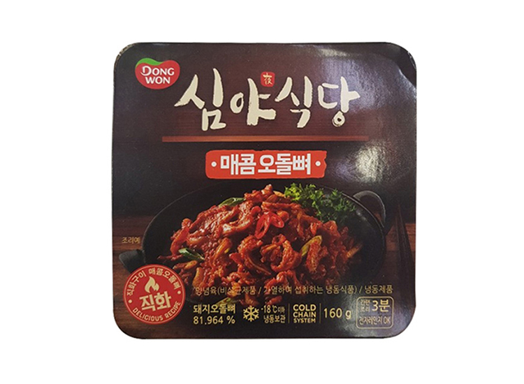 동원)심야식당매콤오돌뼈160g