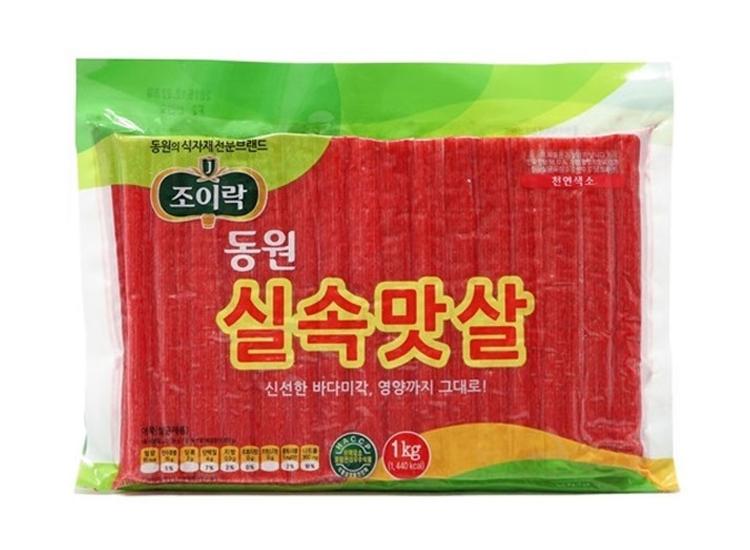 동원)조이락실속맛살1kg