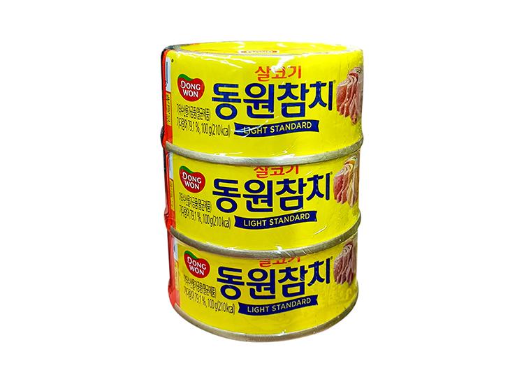 동원)살코기참치100g*3입