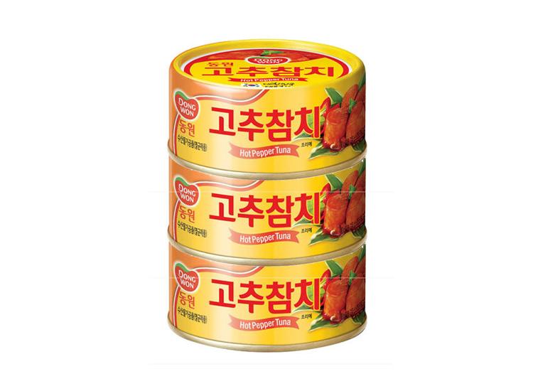 동원)고추참치100g*3입