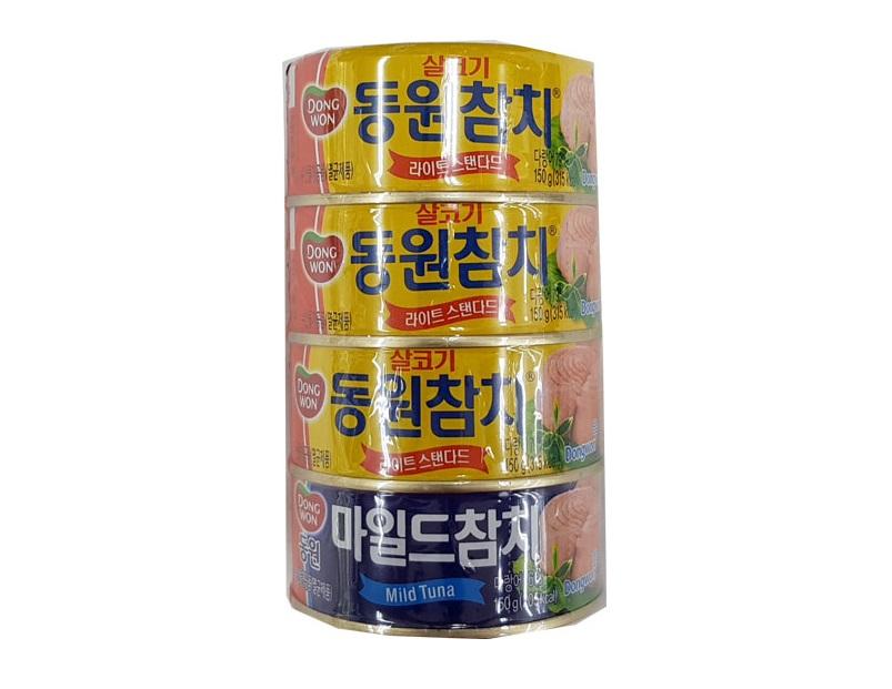 동원)살코기150g*3+마일드150g*1