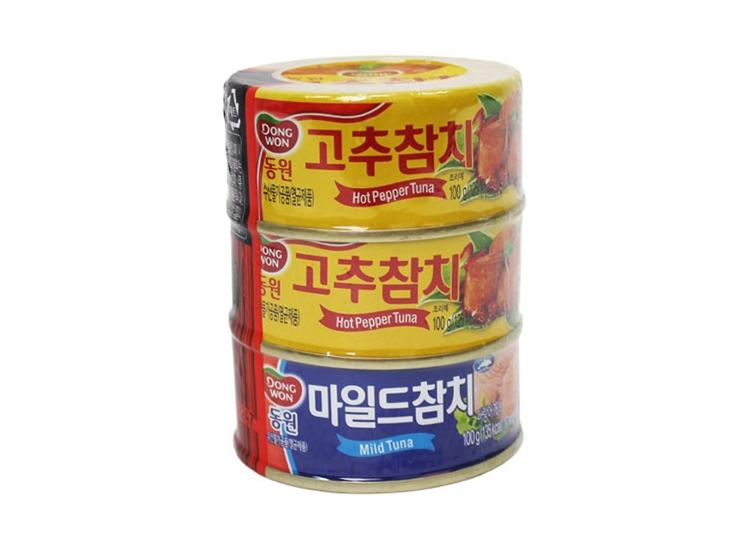 동원)고추참치150g*2+마일드150g