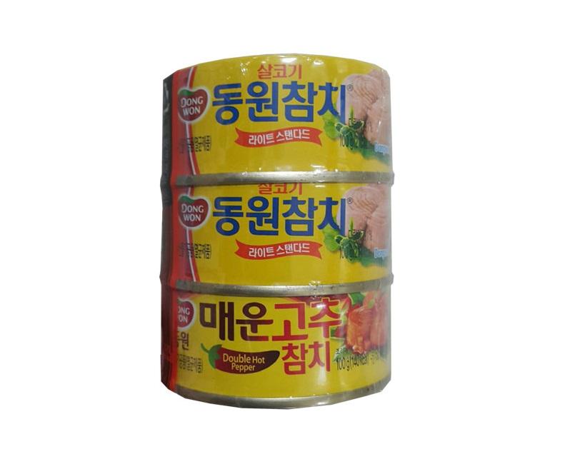 동원)살코기참치100g*2+매운고추참치100g