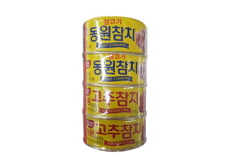 동원)살코기참치150g*2 고추참치150g*2