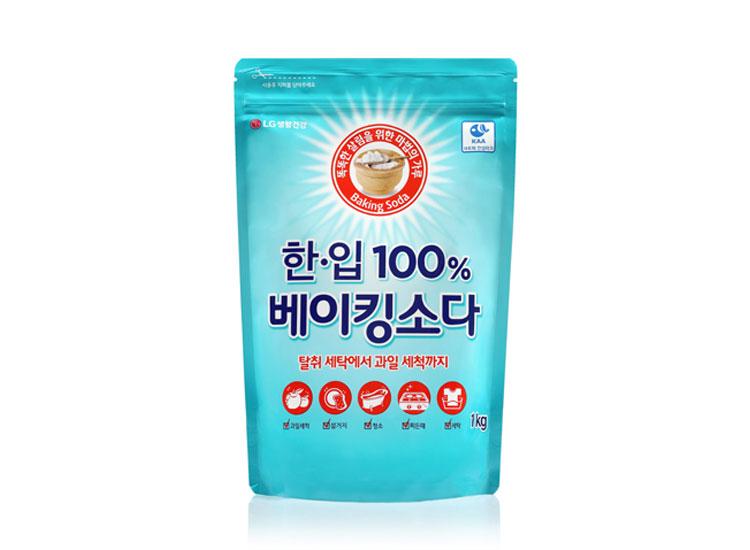 LG)한입100%천연베이킹소다1kg리필