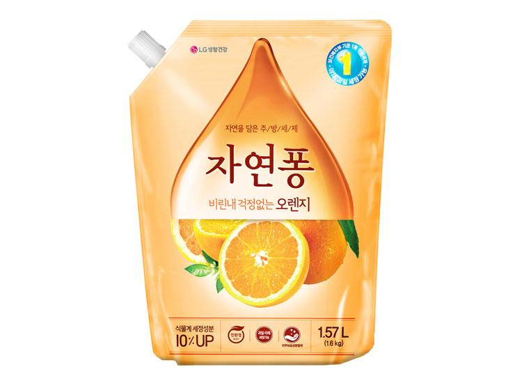 LG)자연퐁오렌지1.1L리필