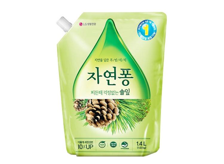 LG)자연퐁솔잎1.1L리필