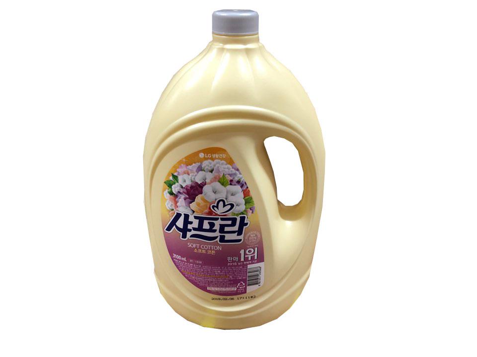 LG)샤프란소프트코튼용기3.1L