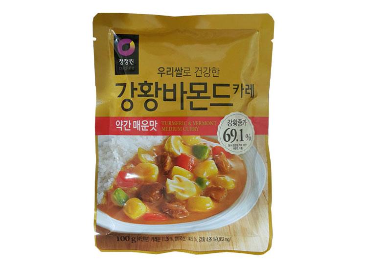 청정원)우리쌀강황바몬드약간매운맛100g
