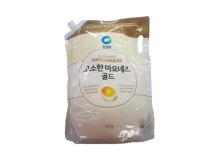 청정원)고소한마요네즈3.2kg(스파우트팩)