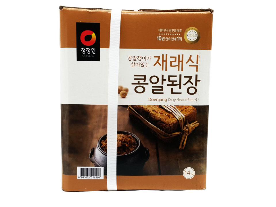 청정원)재래식콩알된장14kg