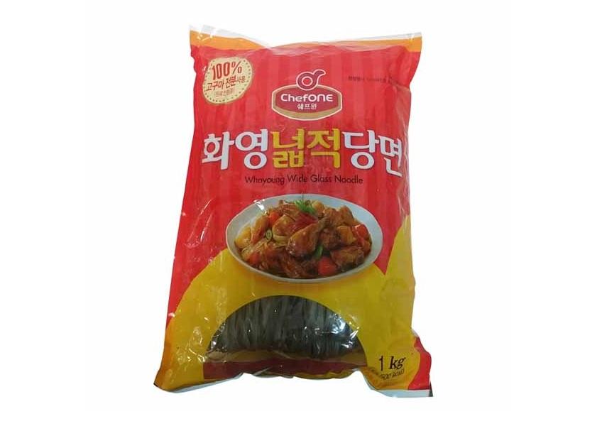 청)쉐프원화영넓적당면1kg