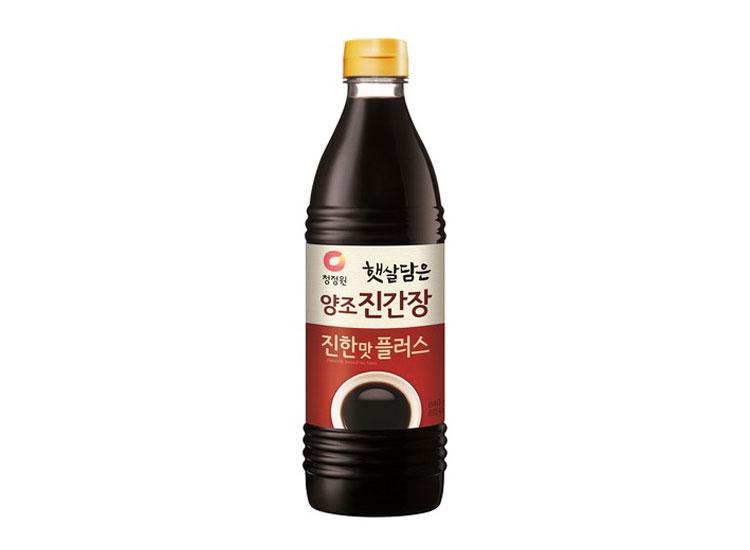 청정원)양조진간장진한맛플러스840ml